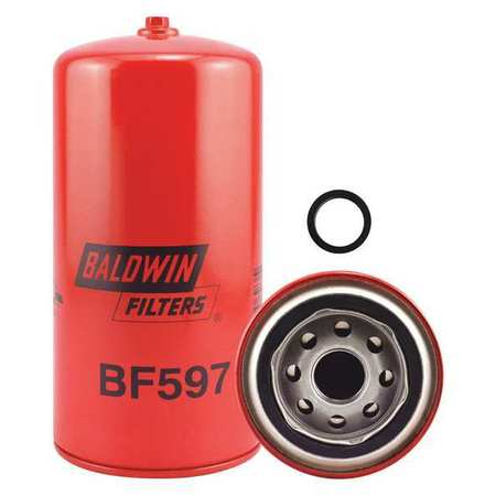 Fuel Filter, 7-17/32x3-11/16x7-17/32 In
