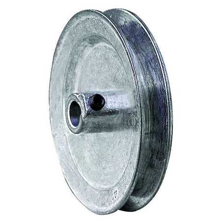 "1/2"" Fixed Bore 1 Groove V-Belt Pulley 5"" OD"