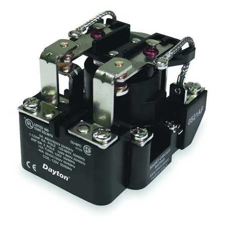 Open Power Relay, 8 Pin, 12VDC, DPDT