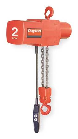 Electric Chain Hoist, 4000 lb., 15 ft.