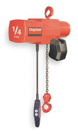 Electric Chain Hoist, 500 lb., 20 ft.