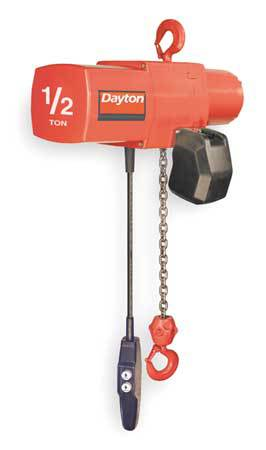 Electric Chain Hoist, 1000 lb., 20 ft.