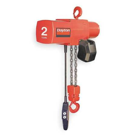 Electric Chain Hoist, 4000 lb., 10 ft.
