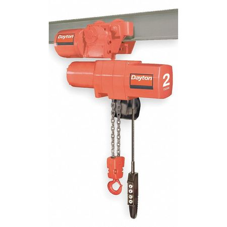 Electric Chain Hoist, 4000 lb., 20 ft.