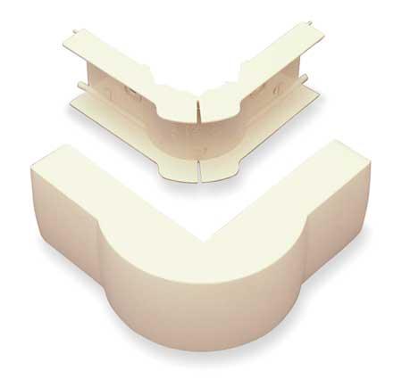 External Elbow, 90 deg., Ivory, PVC, Elbows
