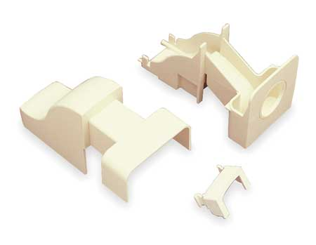 Drop Ceiling Connector, Ivory
