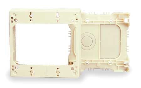 Device Box, Ivory, PVC, Boxes