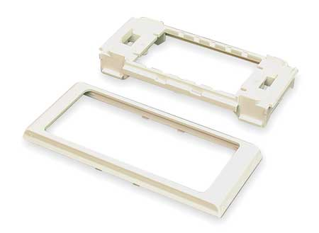 Twin Cover Device Bracket, White