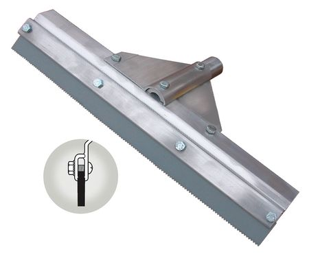 "TOUGH GUY Gray 24"" Squeegee Head"