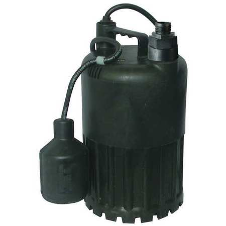 "1/2 HP 1-1/4"" Submersible Sump Pump 115V Tether"