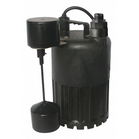 "1/2 HP 1-1/4"" Submersible Sump Pump 115V Vertical"