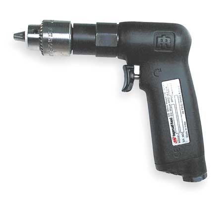 Air Drill, Industrial, Pistol, 1/4 In.