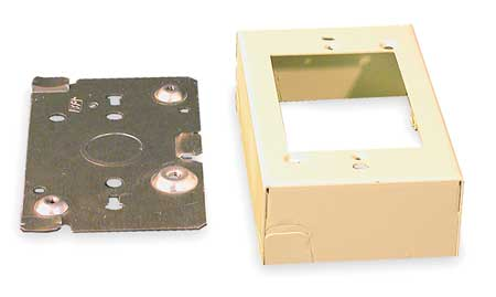 Shallow Device Box, Ivory, Steel, Boxes
