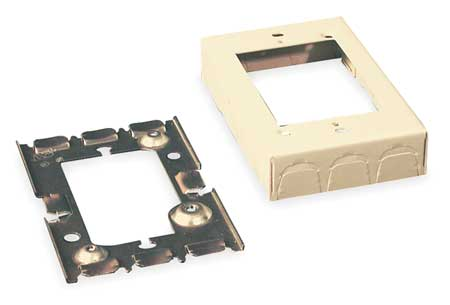 Flush Type Box Extension Adapter, Ivory
