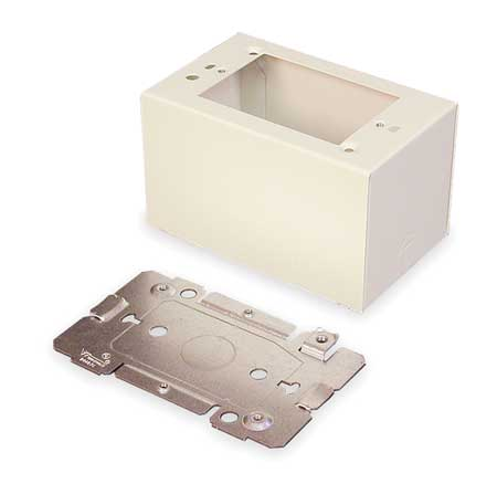 Extra Deep Device Box, Ivory