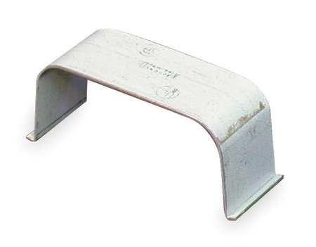 Wire Clip, White, Steel, Clips