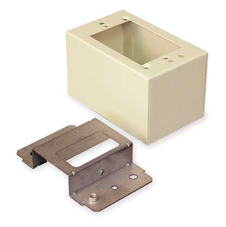 Divided Device Box, Ivory, Steel, Boxes