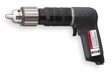 Air Drill, Industrial, Pistol, 1/2 In.