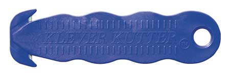 Safety Cutter, Disp, 5-3/4 in., Blue, PK10