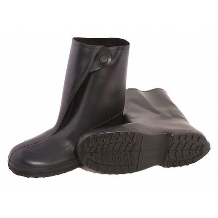 Overboots, Mens, 2XL, Button, Blk, Rubber, PR