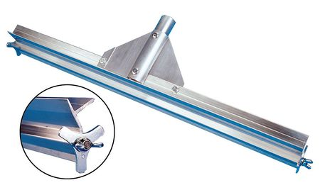 "TOUGH GUY Natural Aluminum 24"" Squeegee Head"