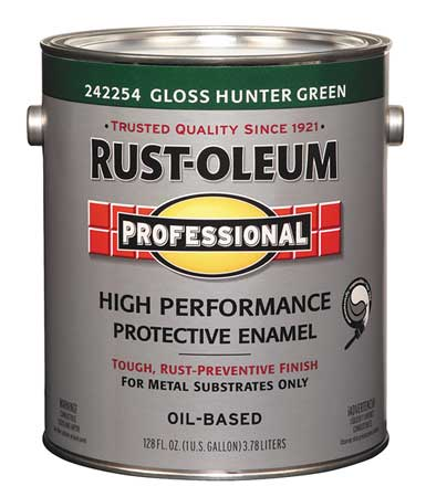 Rust Oleum Alkyd Enamel Hunter Greengloss 1gal 242254