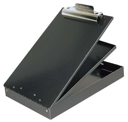 Portable Storage Clipboard, Letter, Black