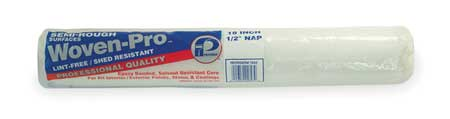 Paint Roller Cover, 18 In, Nap 1/2 In