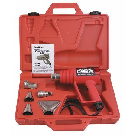 Heat Gun Kit, 130 to 1000F, 11A