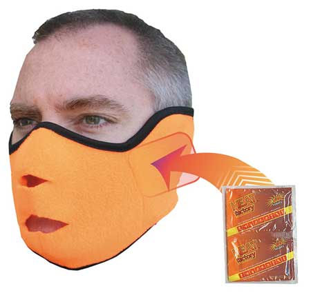 Face Mask, Orange, Universal