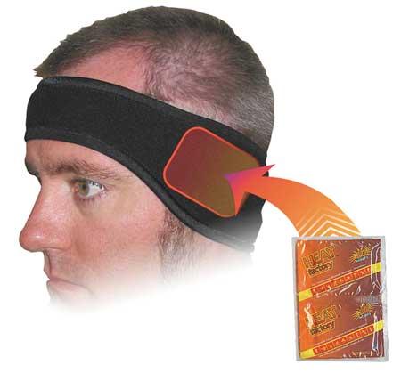 Headband, Black, Universal