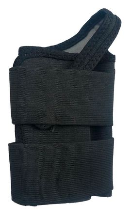 Wrist Support, XL, Left, Black