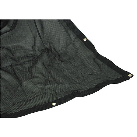 Tarpaulin, Mesh, Polyeth, Cut Size 10x20 Ft