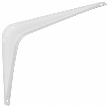 Shelf Bracket, White, 4x6 In