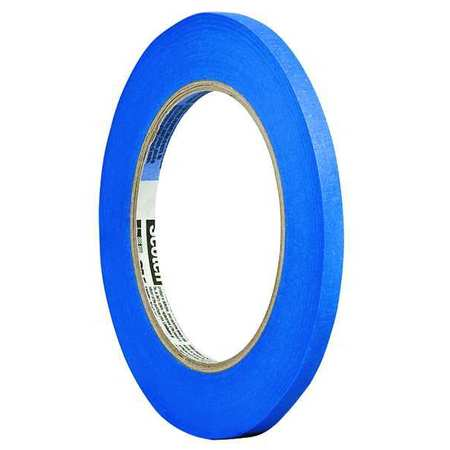 Painters Masking Tape, Blue, 1/4In x 60 Yd