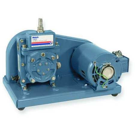 Vacuum Pump, 1/3 HP, 0.9 cfm, 115V