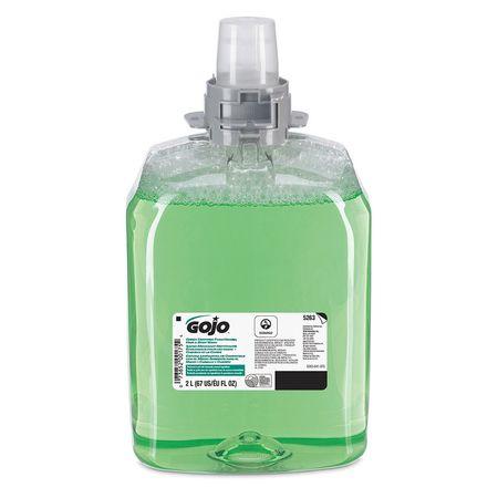 Green Certified Foam Hand Hair & Body Wash,  2000mL,  PK2