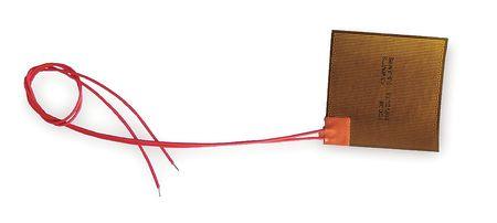 Polyimide Flex Heater, Elec, 1.4A, 115V