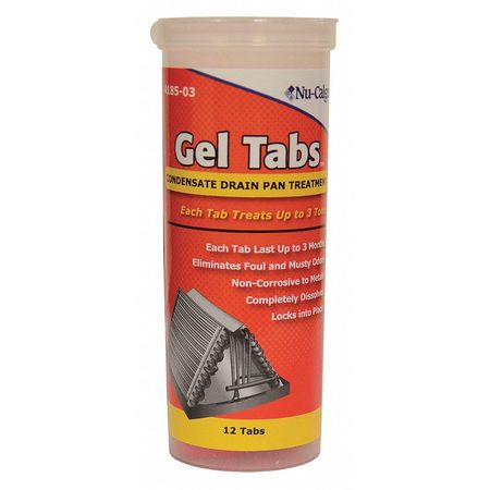 Condensate Pan Treatment, 12 Tabs,  Red