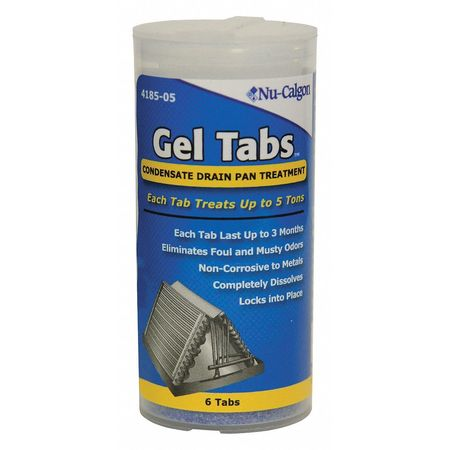 Condensate Pan Treatment, 6 Tabs, Blue