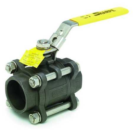 "3"" Socket Carbon Steel Ball Valve Inline"