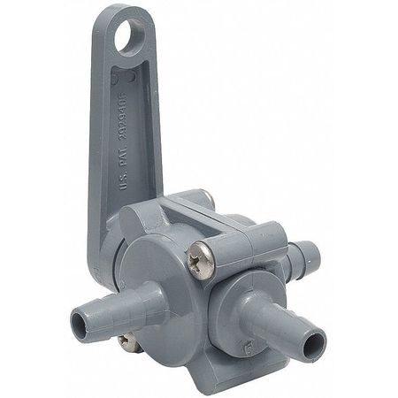 "5/8"" Barb PVC Ball Valve 3-Way"