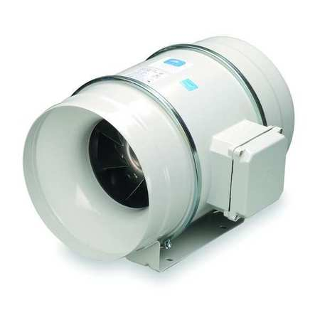 Mixed Flow Duct Fan, 10 In. Dia.