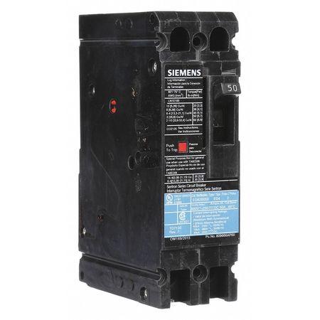 2P Standard Circuit Breaker 50A 480VAC