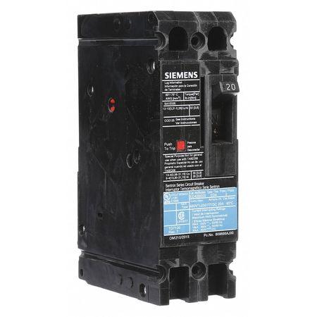 2P Standard Circuit Breaker 20A 480VAC