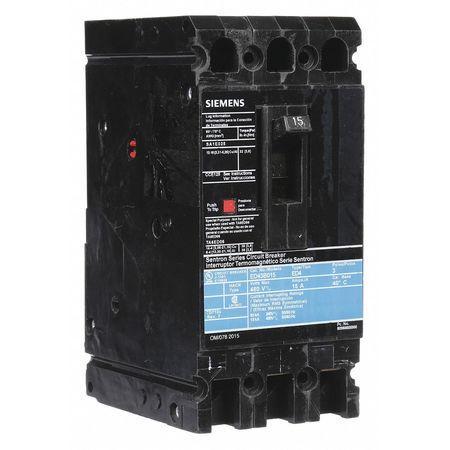 3P Standard Circuit Breaker 15A 480VAC