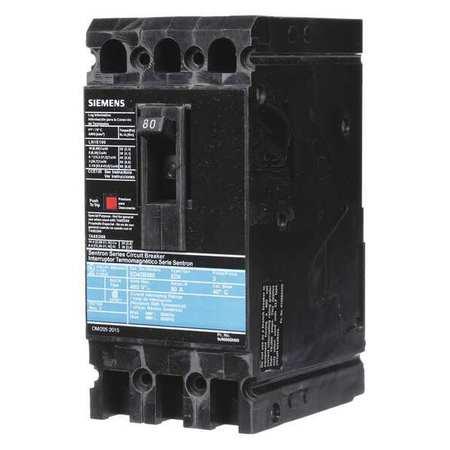3P Standard Circuit Breaker 80A 480VAC