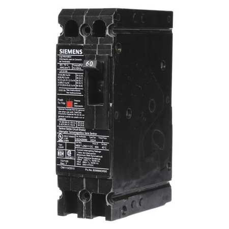 2P High Interrupt Capacity Circuit Breaker 60A 480VAC