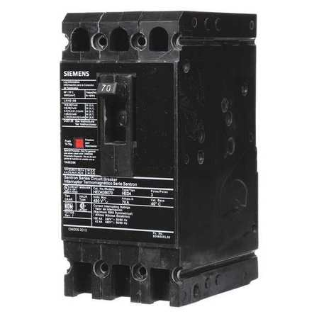 3P High Interrupt Capacity Circuit Breaker 70A 480VAC