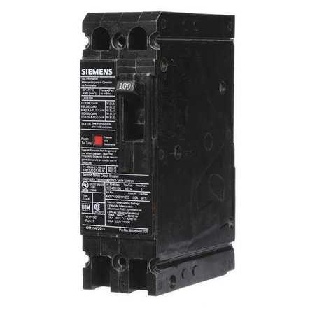 2P High Interrupt Capacity Circuit Breaker 100A 480VAC